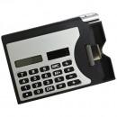 Calculadora Porta-Cartão com Caneta