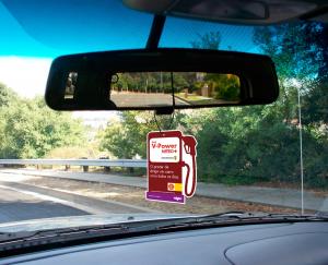 Cartão Perfumado para Carro